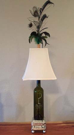 Wine Bottle Lamp